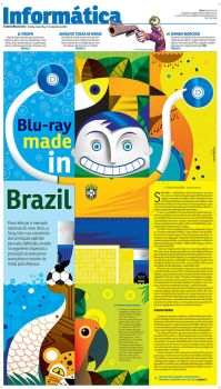 Blu Ray Made in Brazil by marchine