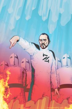 zod, the general....color by strib