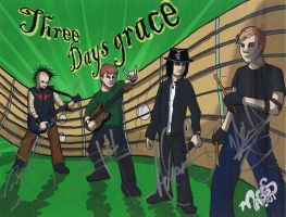 Three Days Grace by Yoell