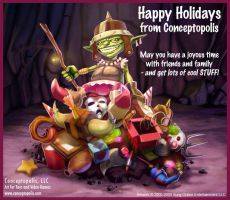 holiday card 2009 by numbo