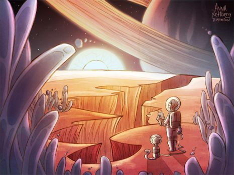 Red Planet by aerettberg