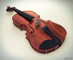 Violin by Regus-Ttef