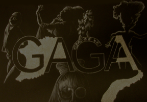 Lady Gaga Collage by Artzychica