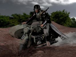 BMW R 75 by caastel