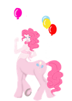 Pinky Pie Centaur Design by charmful