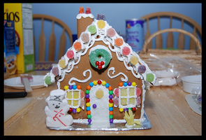 Gingerbread Cottage by RM42