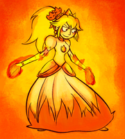 Fire Peach by Altermentality