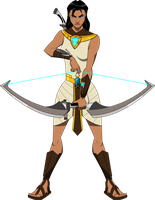 Mythos: Dawn of the Immortals - 3 - Neith by Quinn-G