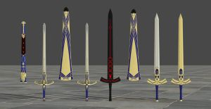 Excalibur HD pack by TheForgottenSaint47