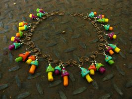 fairy circle necklace by tennessea
