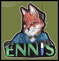 Ennis Bust Badge '11 by AirRaiser