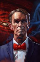 I-Find-Your-Faith-Disturbing-bill-nye-painting by Leeahd