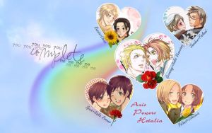 Hetalia wallpaper by Everelle