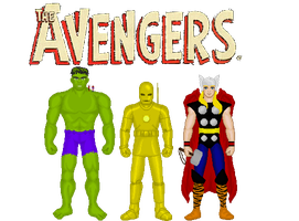 The Avengers by MetalLion1888