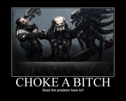 AVP choke a bitch by danzilla3