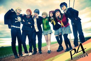 Persona 4 : New Days by JialingPan