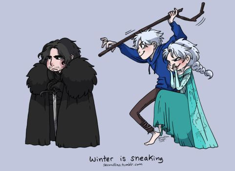 Winter is Sneaking by secondlina
