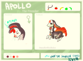 Apollo: The Finnedyr by Gamibrii