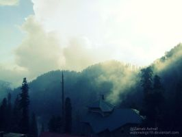 Clouds Took Over The Mountain. by waterwings19