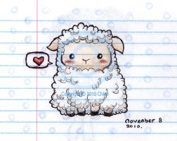 Sheep Sketch by Tsukarii