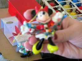 Minnie Mouse Ornament by BigMac1212