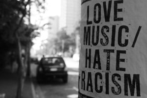 Love Music, Hate Racism by KnotyknoH