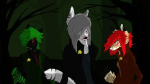 Survivors of the Hunger Games by CheshireWolf97