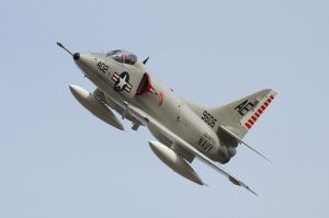 Dan Carr And his A-4C Skyhawk by OpticaLLightspeed