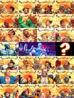 The many faces of SF4 by HandsomePhil