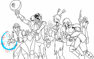 WIP: Zombie Pile by kingandy