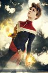 Captain Marvel - Civil War II - Marvel Comics by FioreSofen