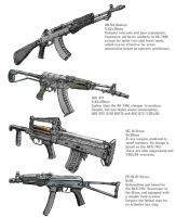 Russian Rifles by Hoborginc