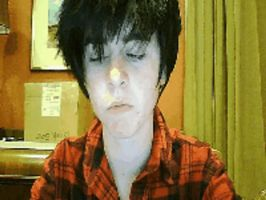 Marshall Lee Gif (Smile) by starlingthefairy