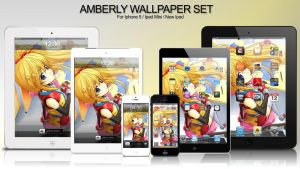 Amberly I-Series Wallpaper by panom