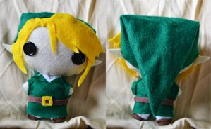 Link Plush by IDreamOfBlueSkies