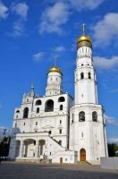 Ivan the Great Bell Tower, Moscow by Irondoors