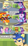 Twilight Tells Her Human Friends Her Secret by CyrilSmith