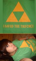 I saved the triforce by girloveslink