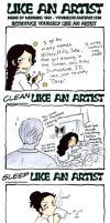 Like an Artist Meme by Irukasdove