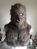 Wolfman Werewolf mask! by shadowcast89