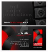 TOP Business Card 2009 - fb by noremorseiwannadie
