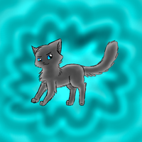 Cinderpelt - art trade by Spottedfire-cat