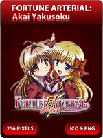 Fortune Arterial - Anime Icon by Zazuma