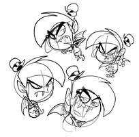 Anti-Cosmo Doodle Dump by FairlyOddFan