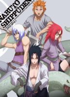 Team Sasuke Taka by SAKURATEFF