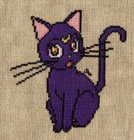 Luna cross stitch by Santian69
