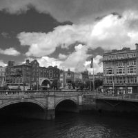 Dublin Black and white by SilviaPhotography