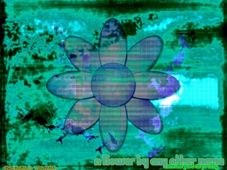 A flower by bitmap