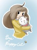 Bee and Puppycat by SilentCartoonist