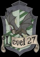 Level 27 Shield by Bloodzilla-Billy